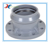 PVC Plastic Faucet Flange for Drainage with Injection Mould
