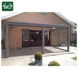 Retractable Roof System with Aluminum Structure and Polycarbonate Sheet