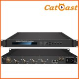 Digital TV Broadcasting Modulator DVB-S2X with Input Asi to RF
