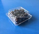 Disposable Plastic Fruit Packaging Punnet for Blueberry 125 Grams OEM Accepted FDA