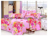 100% Cotton or Poly-Cotton Bedding Set for Hotel King Size