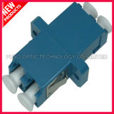 LC UPC Duplex Singlemode SC Type with Flange Plastic Adapter
