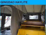 Camper Trailer with Kitchen and Bedroom