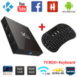 X96 Android TV Box with Wireless Keyboard Full Loaded
