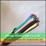 Multi Core PVC Insulation PVC Sheathed Control Cable