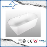 Bathroom Pure Acrylic Seamless Freestanding Bath Tub (AB6513)