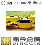 Enamel Cast Iron Mini Water Coffee Milk Pot with Lid