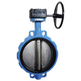 Wafer Type Concentric Butterfly Valve with Gear Operator