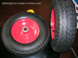 """13 Inch 13""""X4.00/3.50-6 Pneumatic Inflatable Rubber Wheel"""