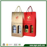 Custom Printed Wine Packing Paper Bag