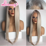 High Quality Long Straight Human Hair Lace Front Wig