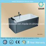 Rectangle Simple Apron Acrylic Bathtub (BLS-7477)