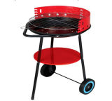 Garden Charcoal Barbecue Grill portable Trolley Brazier