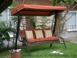 3-Seaters Garden Swing Hammock with Rattan Wicker Woven for Baby Kids USA/UK/Canada