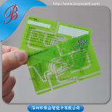 SGS Approved Transparent PVC Plastic Member Card