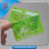 SGS Approved Transparent PVC Plastic Member Card