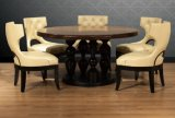 Round Wooden Dining Table (PA4-1)