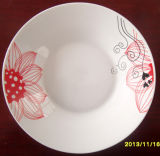 Porcelain Dinner Plate, Salad Bowl and Mugs, Soup Plate