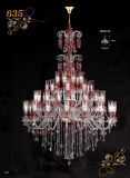 Classic Ornate Big Crystal Chandeliers Pendant Lamps (MD635-48)