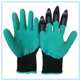 Latex Foam Coated Garden Planting Digging Gloves