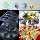 China Manufacturer Custom Wholesale Oyster Display Plastic Oyster Trays