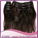 Clip in Hair Extension 100% Virgin Human Hair Brazilian Hair
