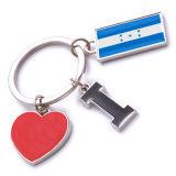 New Custom Metal Souvenir Honduras Keyring