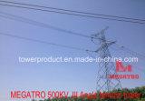 Megatro 500kv Transmission Line Jii GaN Type Angle Tension Tower