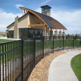 Steel Picket Fence/ Square Steel Fence/ Designs for Steel Fence