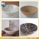 Granite and Marble Round Shape Vessel Sink Vanities for Sale