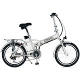 Foldable Alloy Frame E Bicycle with Powerful 350W Motor