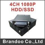 3G/4G Full HD 4CH 1080P Car DVR
