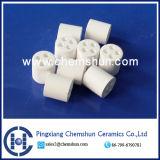 High Alumina Ceramic Ring with 4 Holes (Al2O3: 99%)