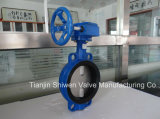 Qt450 Ductile Iron Wafer Type Butterfly Valve Without Pin
