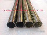 Anti-Corrosion Kevlar Carbon Fiber Pipe with Pattern