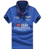 Customized High Quality Different Colors Auto Racing Embroidered Polo Shirt