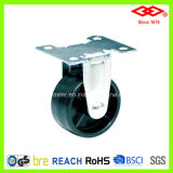 Fixed Plate Plastic Caster Wheel (D111-30B063X28)