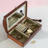 Mens Vintage Leather Jewellery Box