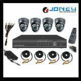 CCTV H. 264 4CH Digital Video Recorder Combo Camera DVR Kit
