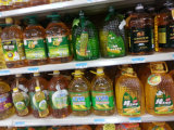Glossy PVC Oil Label Shrink Sleeve Label