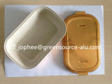 Golden Coated Aluminum Foil Container