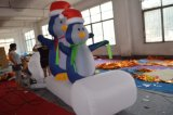 Big Outdoor Inflatalbe Snow Man Big Advertising Christmas Decoration