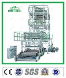 Three Layer Co-Extrusion Film Blown Machine with Upper Rotary