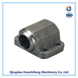 Carbon Steel Casting Part for Hydraulic Flange Block