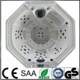 USA Acrylic Round Whirlpool Hot Tub with CE SAA RoHS Approved