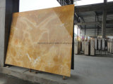 Natural Stone Marble Floor Honey Onyx Slab Tile