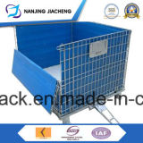 Qualified China Steel Foldable Mesh Container