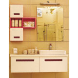 Big Storage White Hanging Bathroom Cabinet