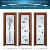 Wooden Color Aluminium Casement/Swing Door Hinged Door