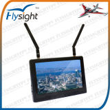 A22 Flysight RC Dragonfly Helicopter with 7inch Black Pearl Diversity LCD HDMI Monitor